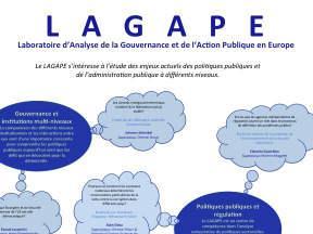 Poster du LAGAPE présenté lors de la journée de la recherche du 26 octobre