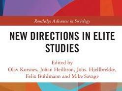"""New Directions in Elite Studies"""