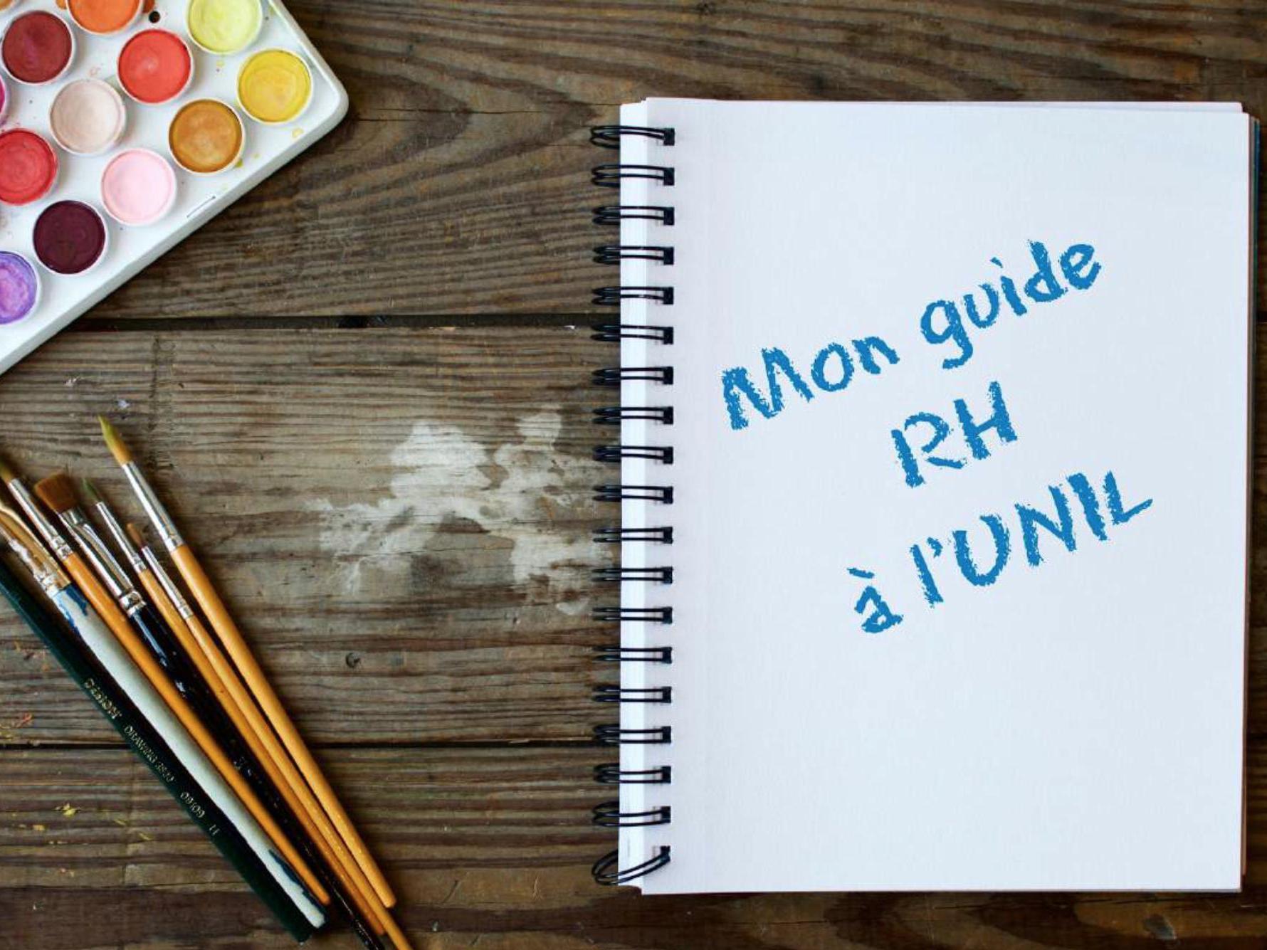 Mon Guide RH à l'UNIL