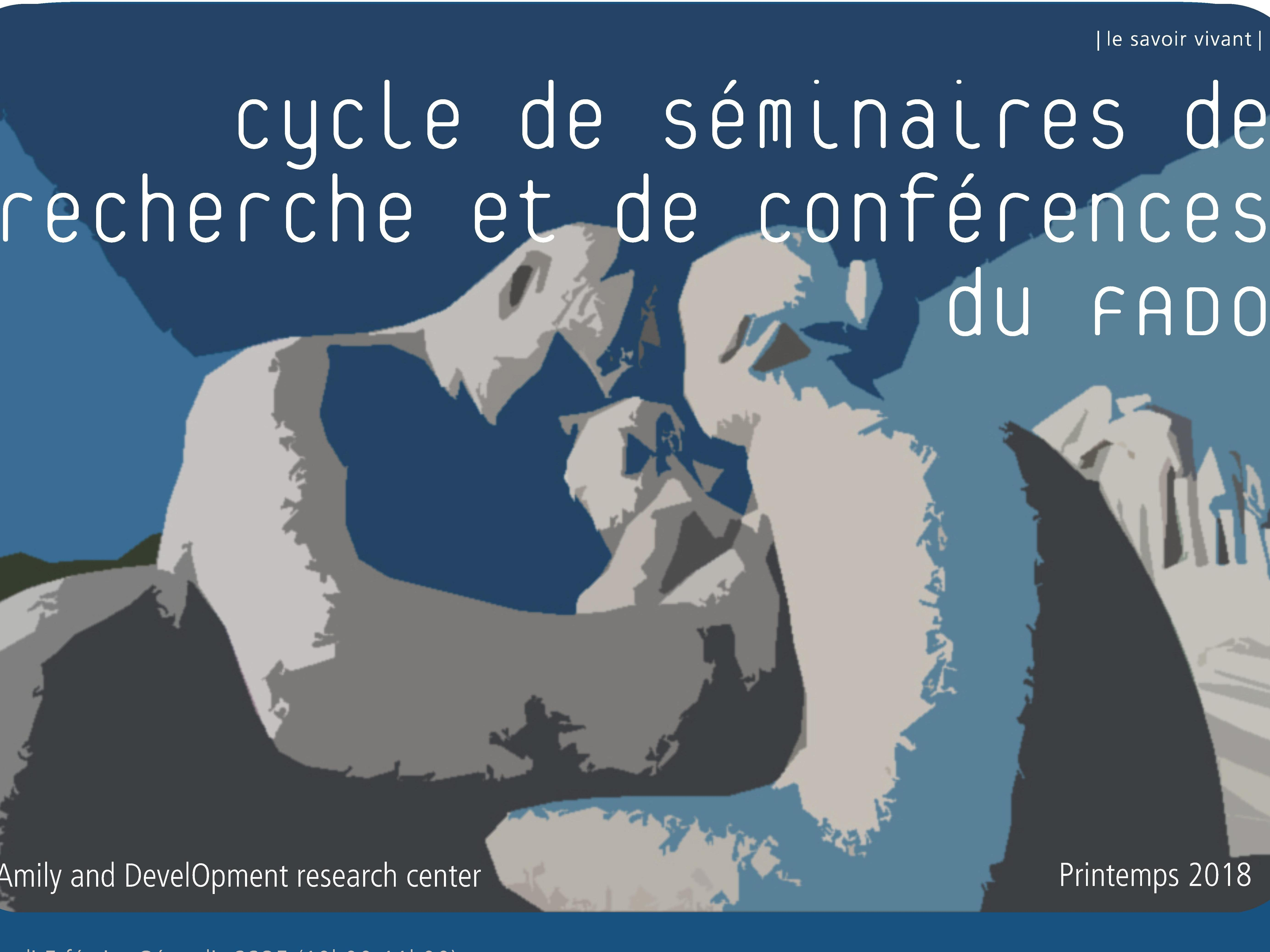 Cycle de séminaires de recherche et de conférences du FADO (Printemps 2018)