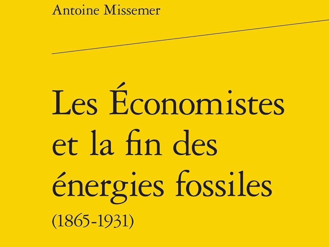 Dr. Antoine Missemer wins the 2017 Marcel Boiteux Prize for Energy Economics