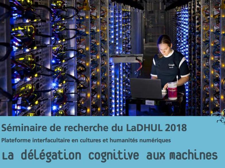 La délégation cognitive aux machines