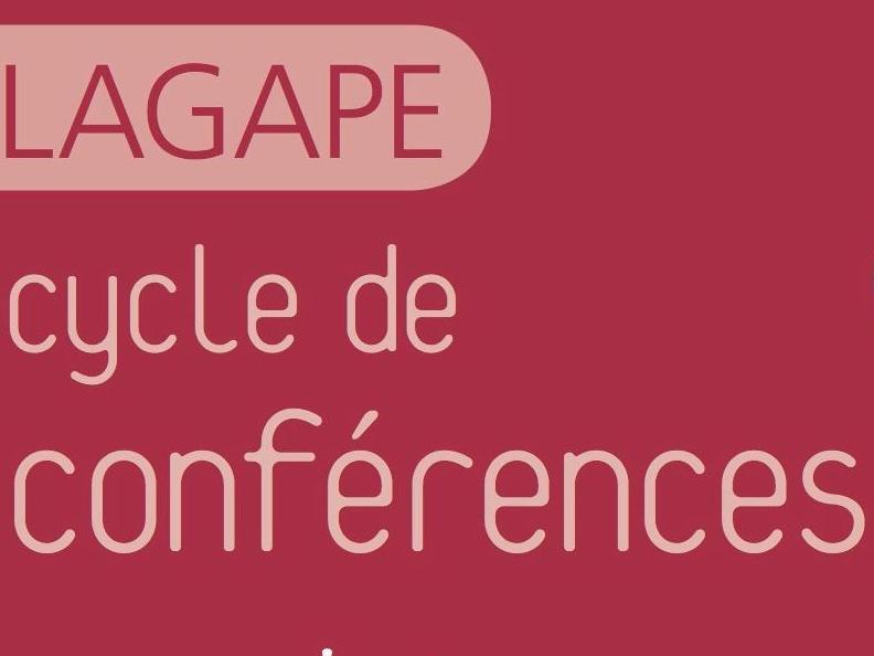 Programme des conférences du LAGAPE printemps 2018