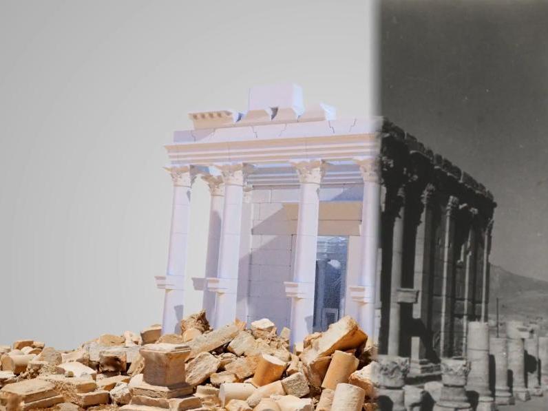 Le sanctuaire de Baalshamîn à Palmyre revit grâce aux archéologues de l'UNIL