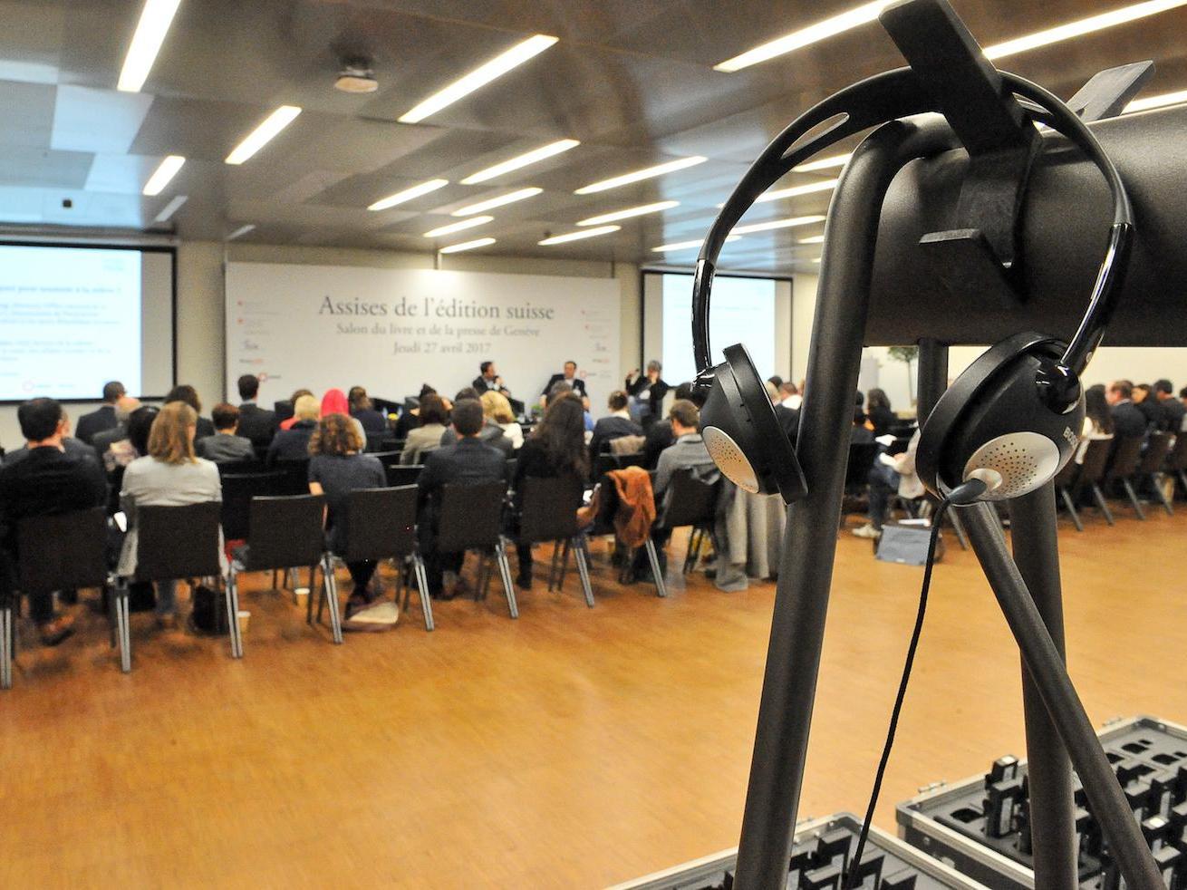 Assises de l'édition au Salon du livre de Genève