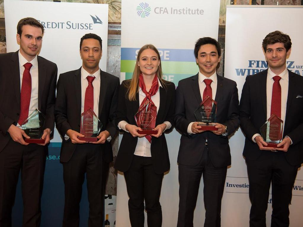 L'équipe de HEC Lausanne remporte le Swiss CFA Institute Research Challenge