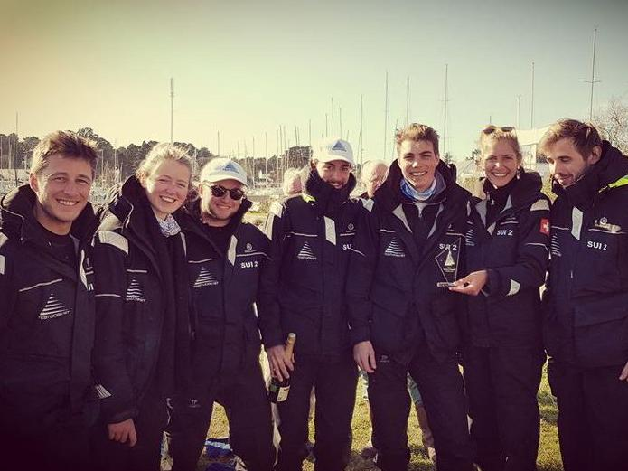 The HEC Lausanne Sailing Team wins first place in the Grand Surprise Trophy