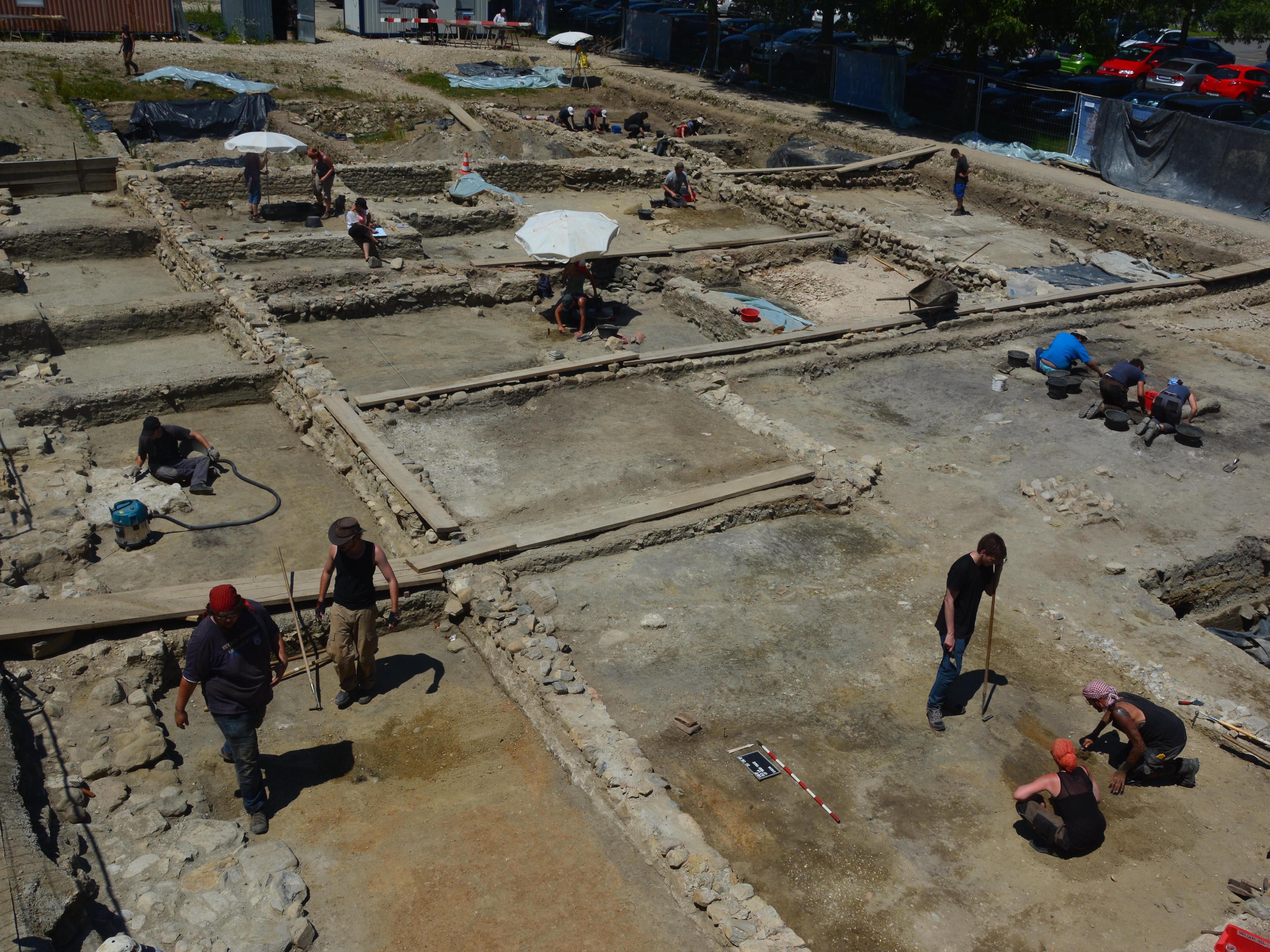 Les inscriptions aux fouilles 2018 sont ouvertes