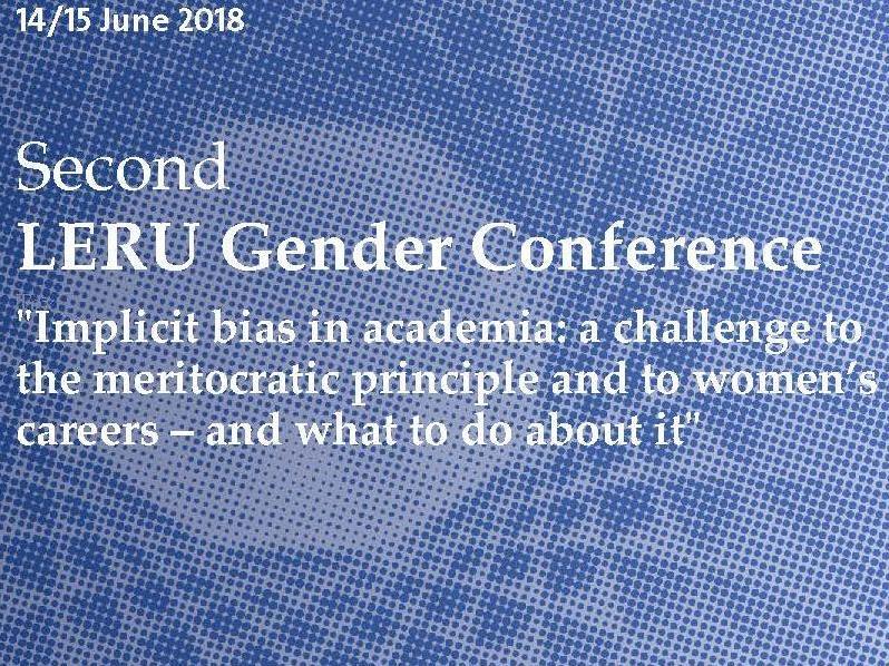 Deuxième Conférence sur le Genre de la LERU