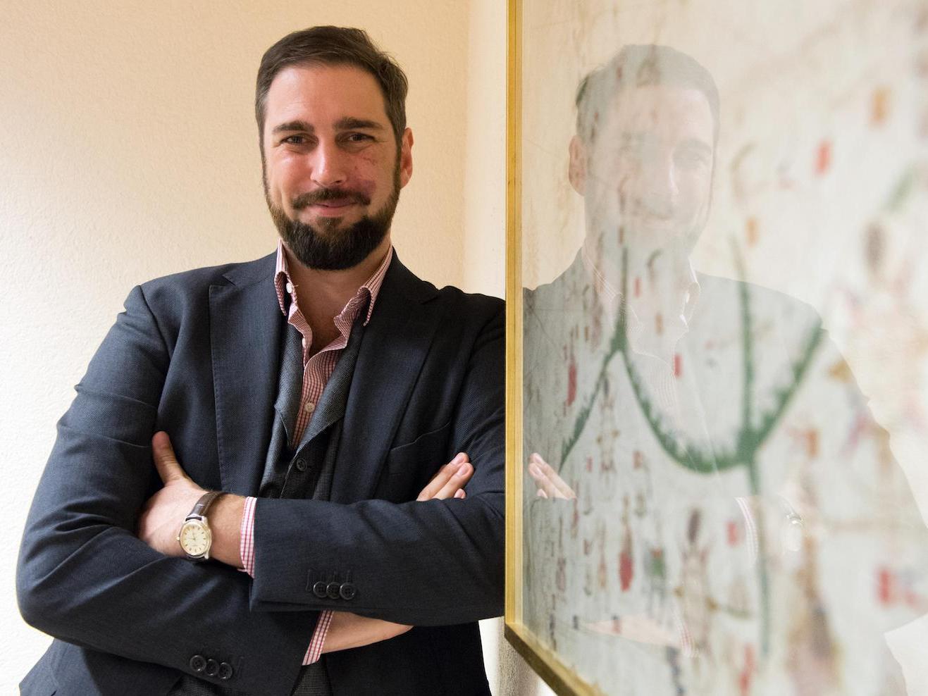 Roberto Zaugg, nommé professeur boursier FNS à l'Université de Berne