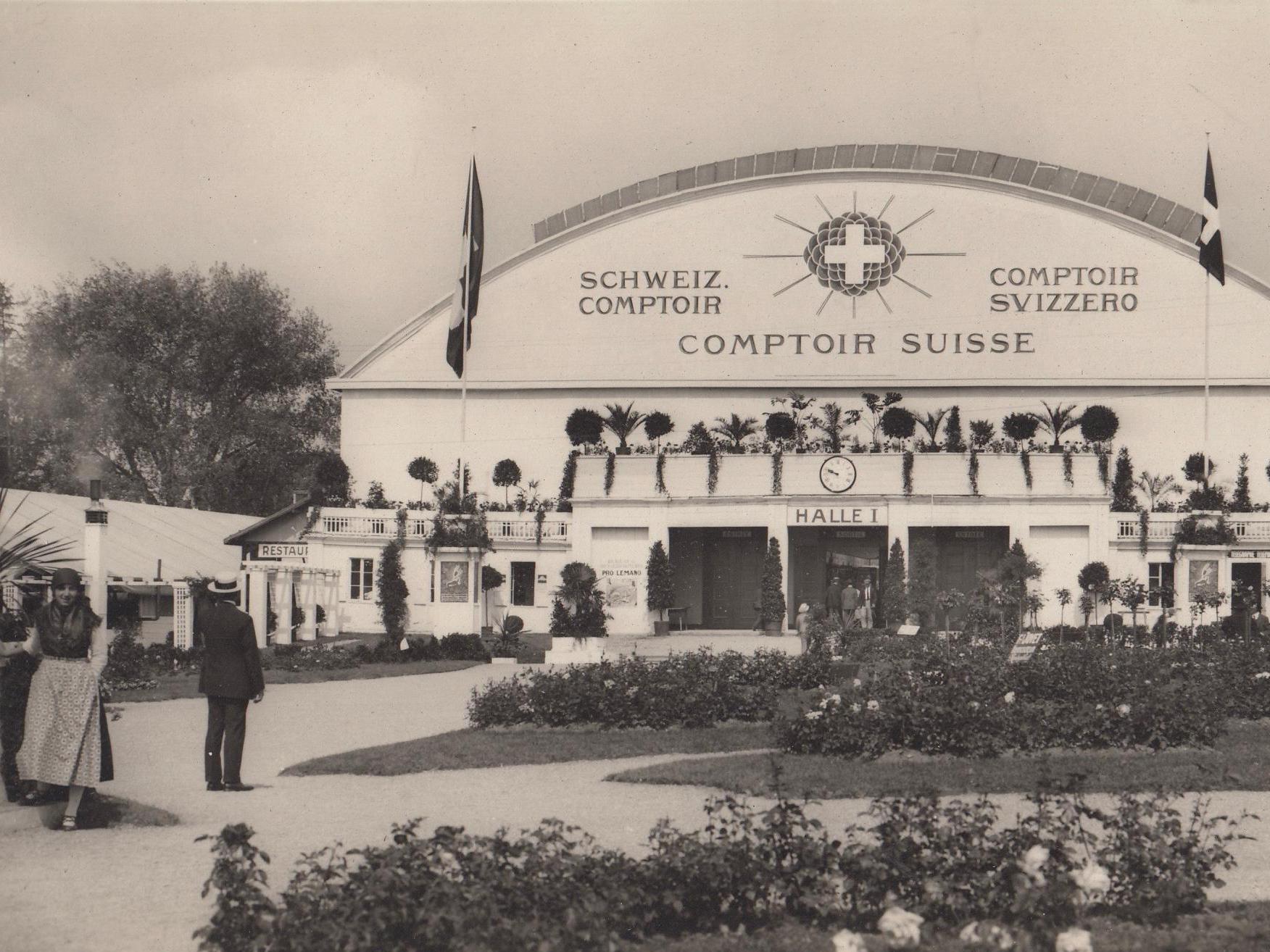 100 ans de Comptoir Suisse sous l'œil de trois chercheur·e·s de l'UNIL