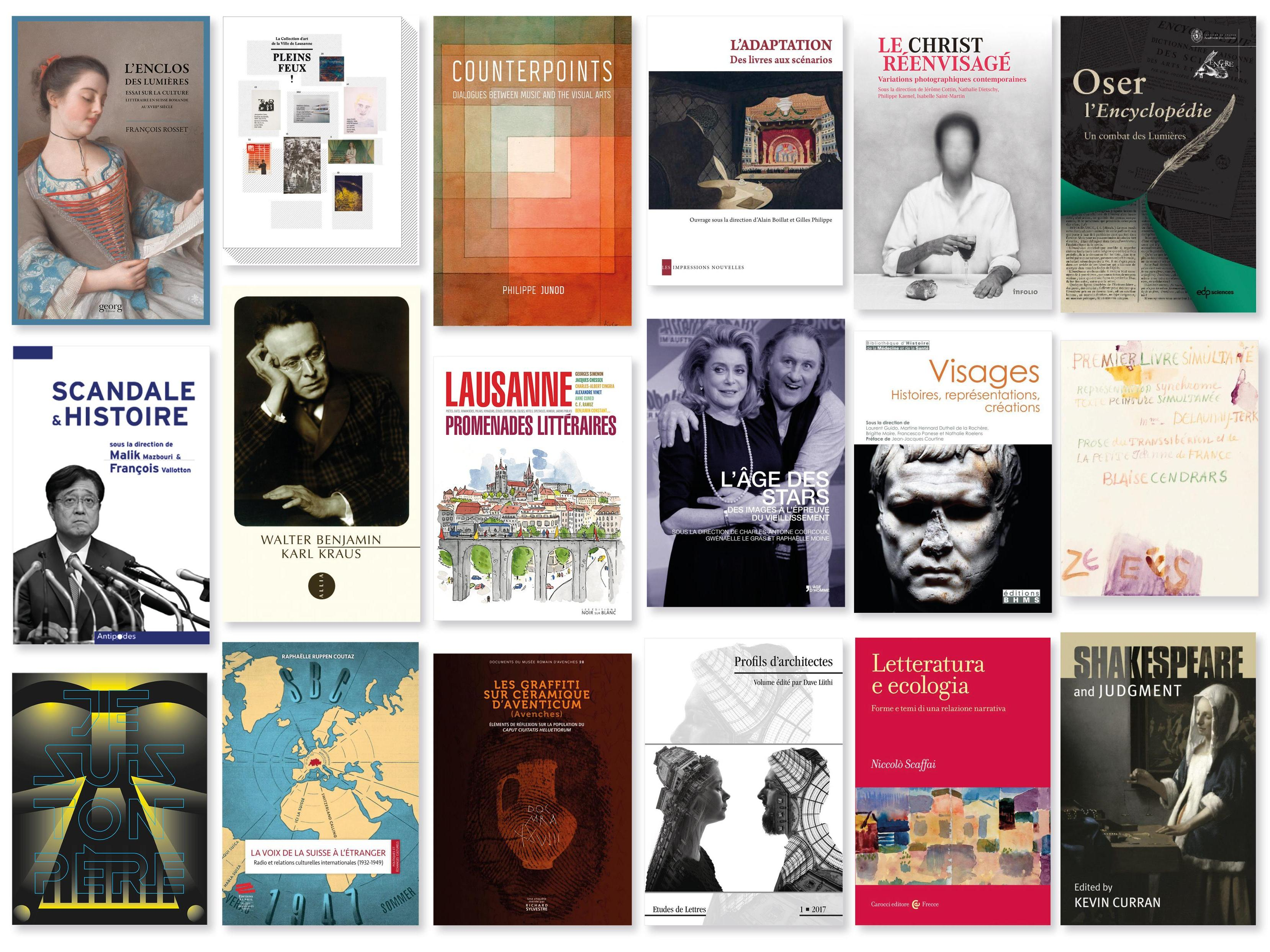 Découvrez les ouvrages des chercheur·euse·s en Lettres sur unil.ch/labelettres