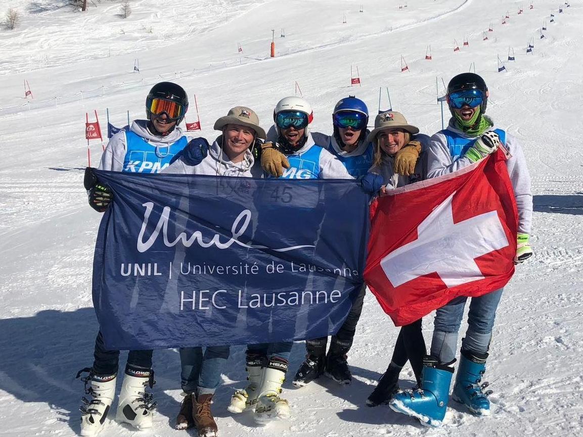 Le HEC Lausanne Ski Club a enchaîné d'excellentes performances cet hiver