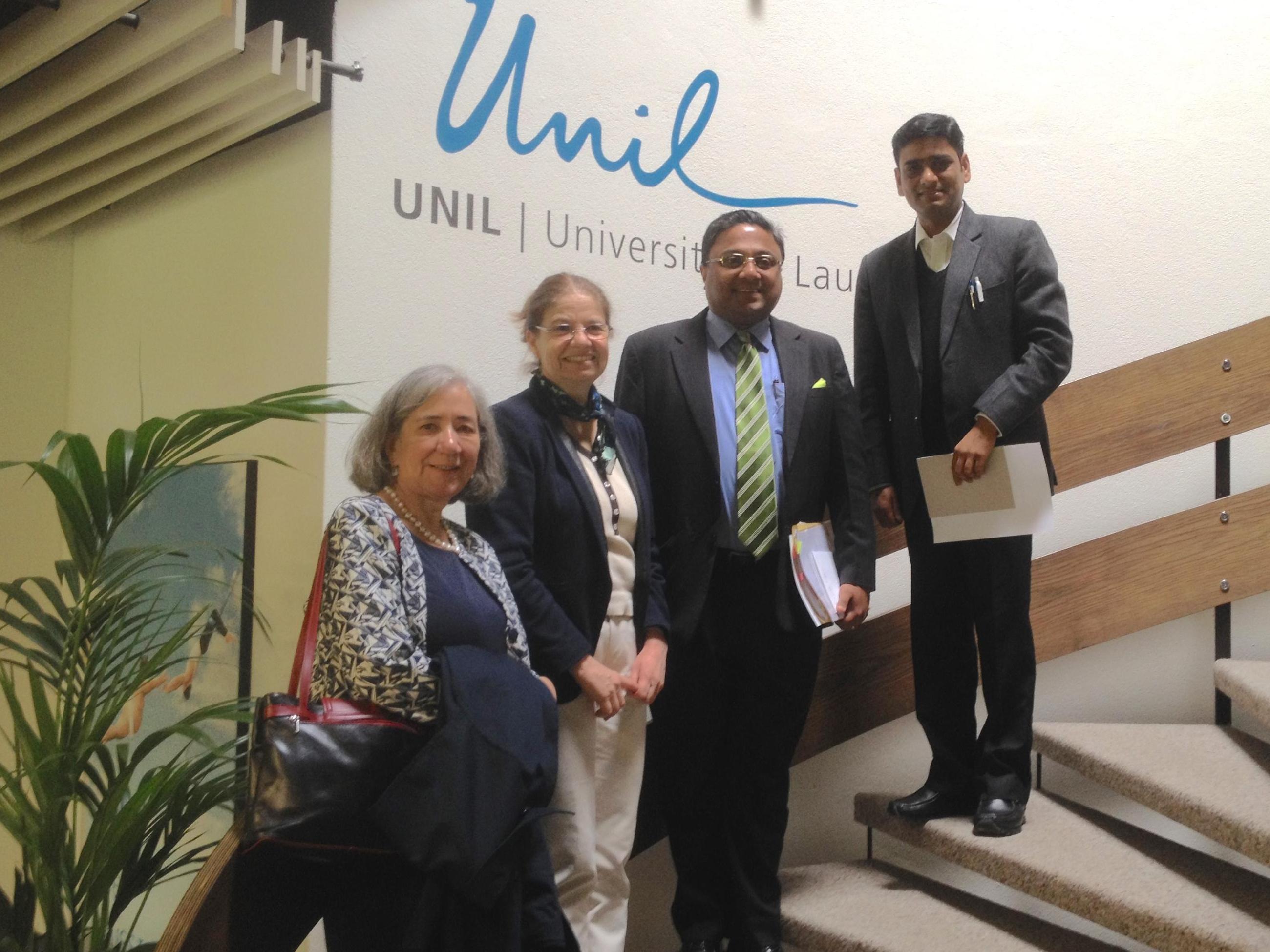 Visite de l'Ambassade d'Inde