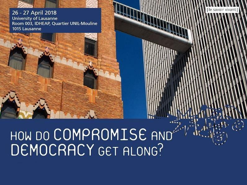 Colloque │How do compromise and democracy get along ?