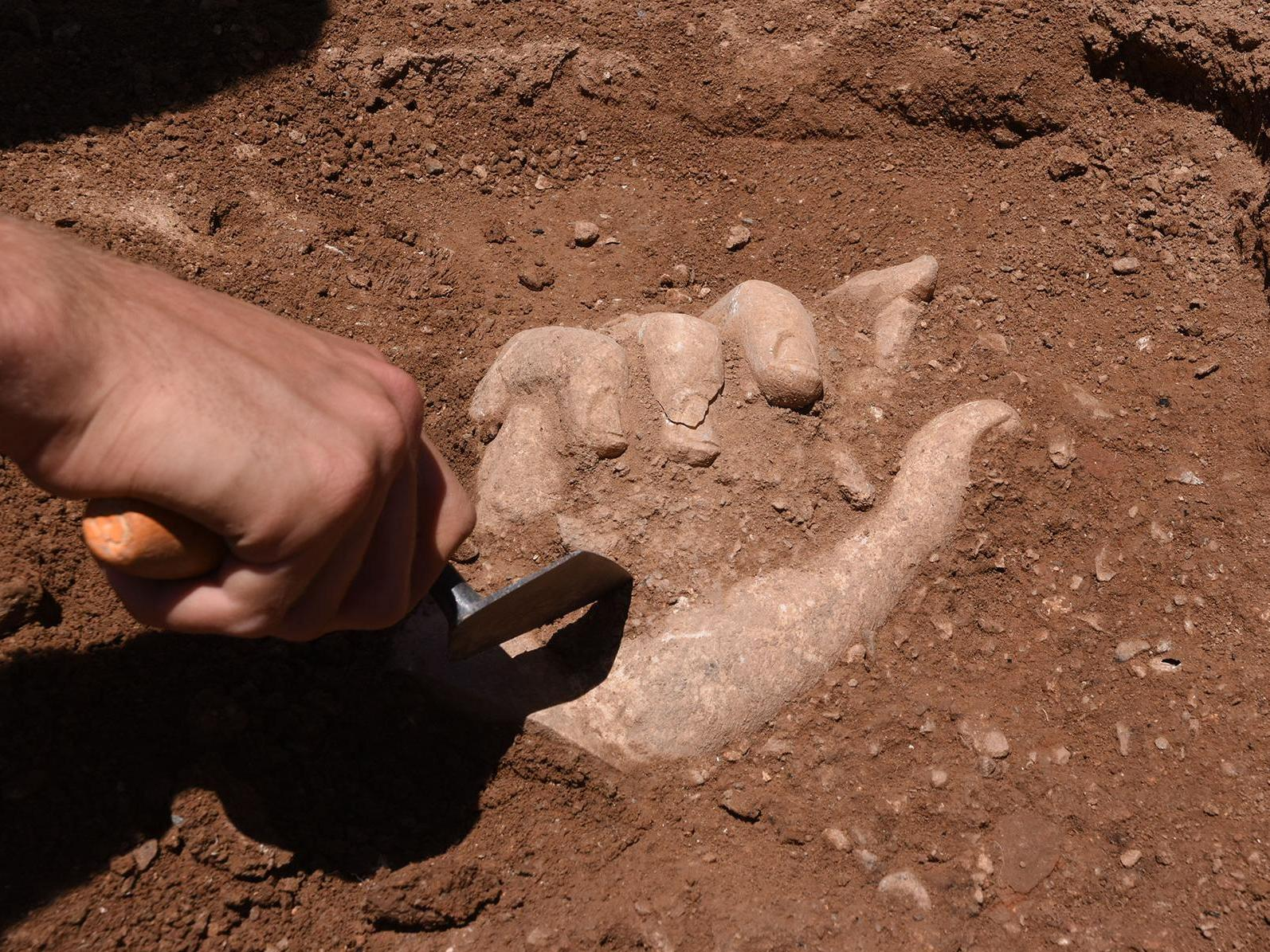 Une photo d'un doctorant en archéologie primée par le FNS