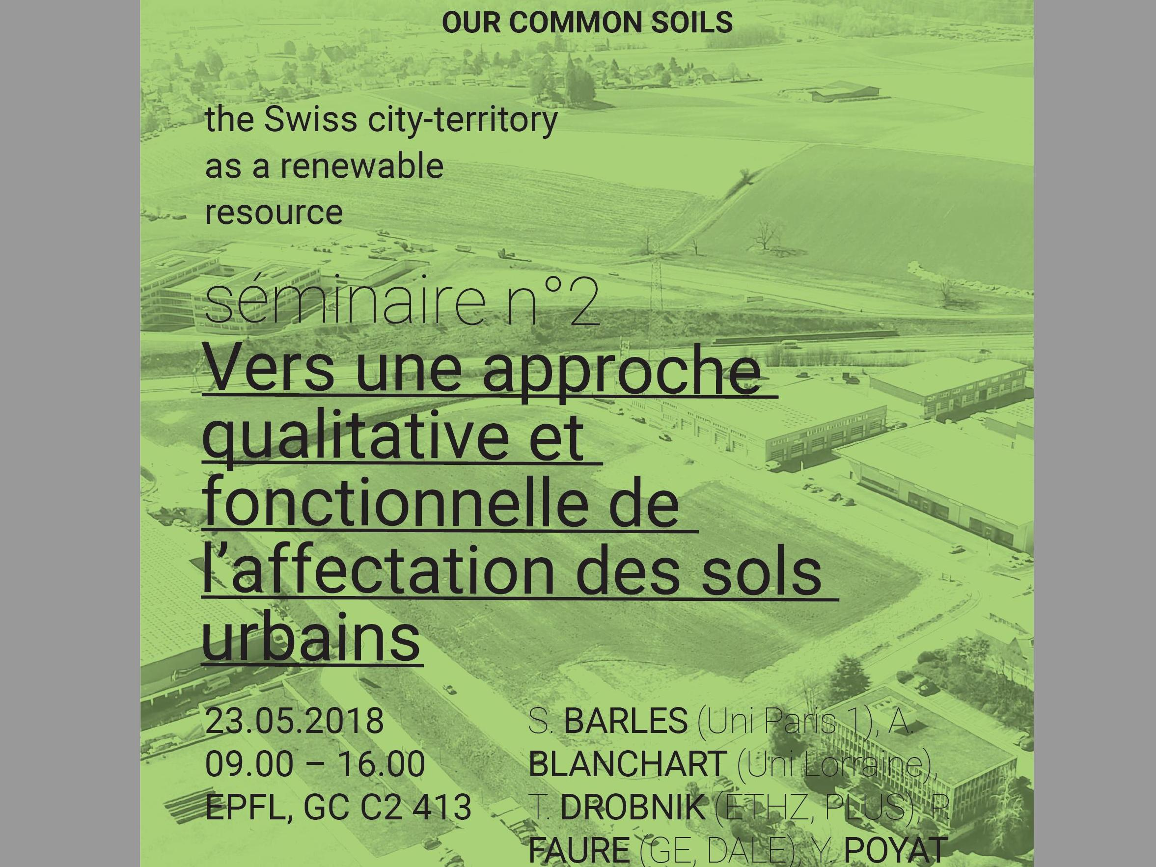 The Swiss city-territory as a renewable resource