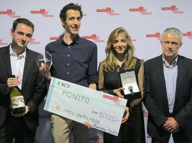 Monito remporte le Prix Strategis
