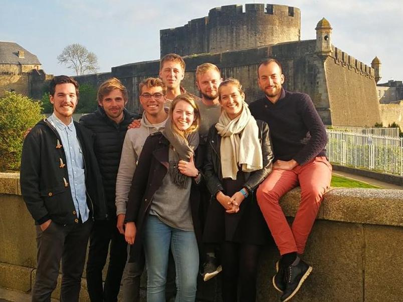 En mer bretonne, la HEC Lausanne Sailing Team excelle!