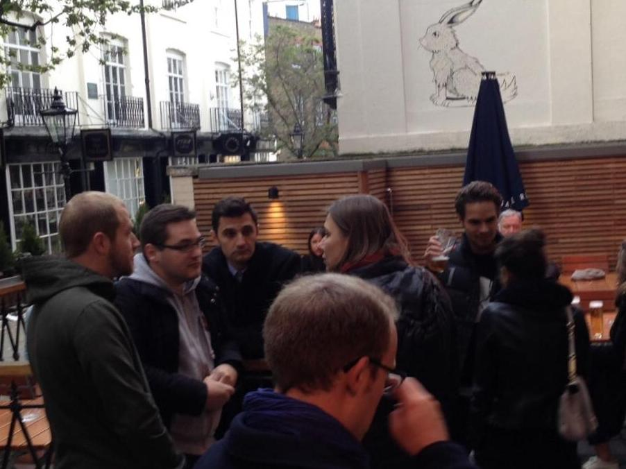 Report of three students about their experience in London