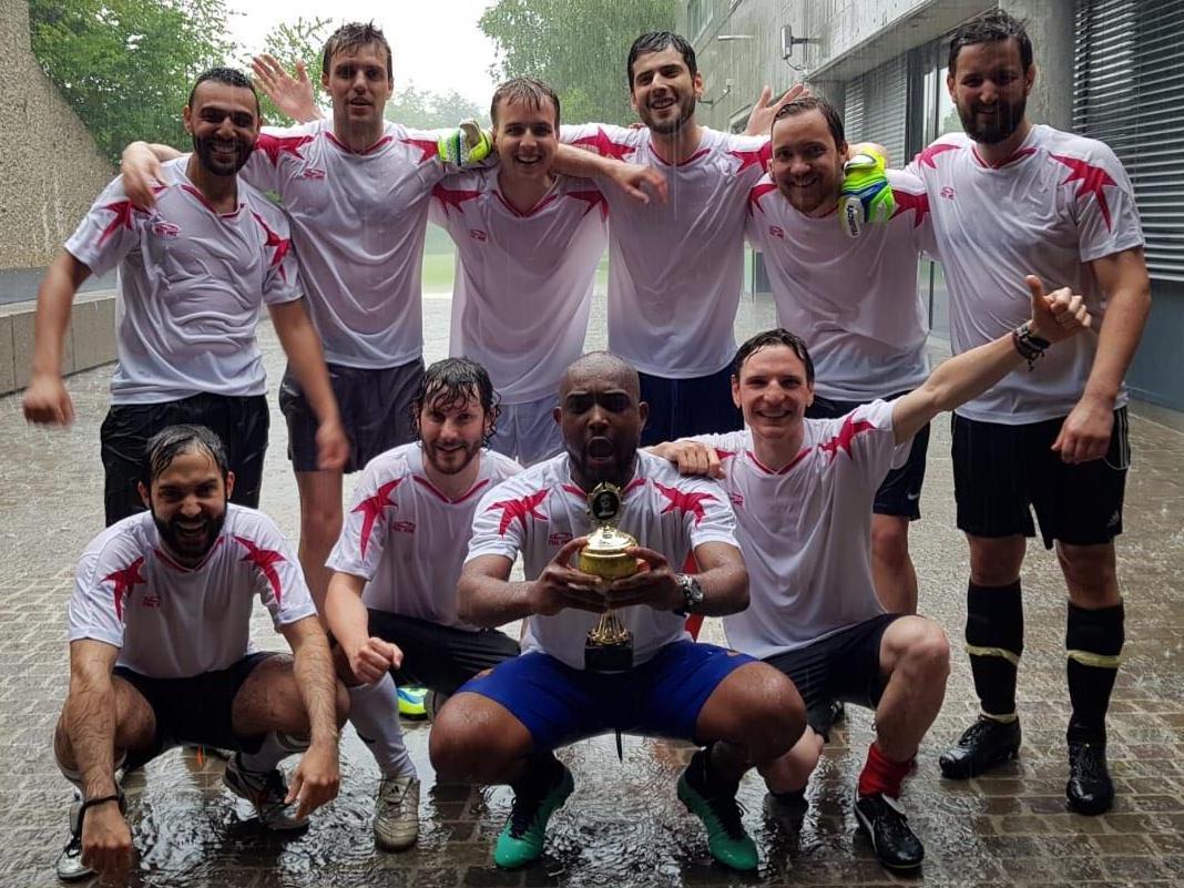 Troisième édition du tournoi de football des instituts suisses de science politique à Zurich