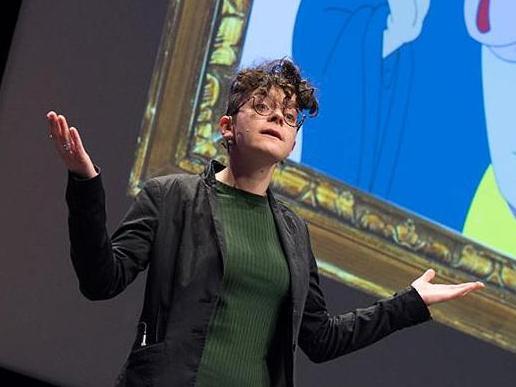 Mme Leah Gilbert, doctorante de Prof. Antje Horsch, a présenté sa thèse en 180 secondes jeudi dernier.