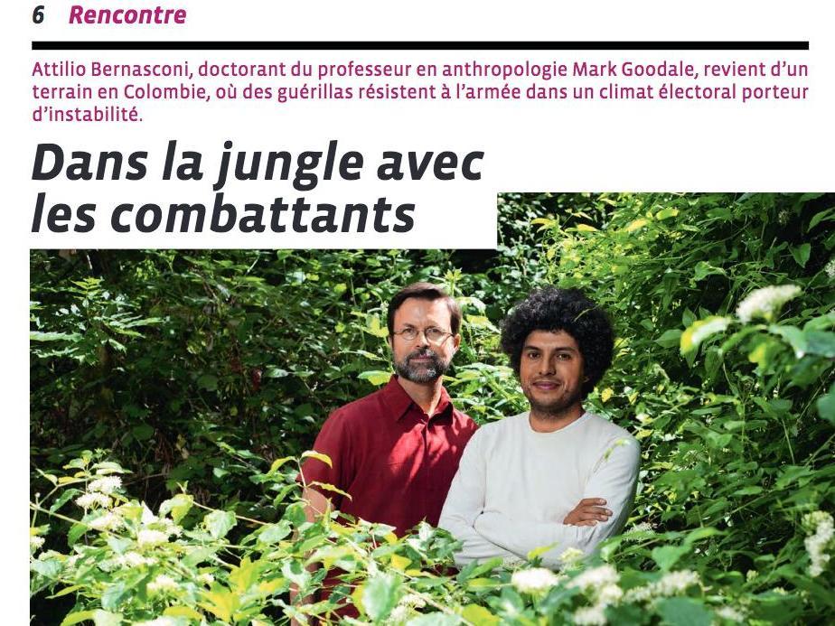 Dans la jungle avec les combattants