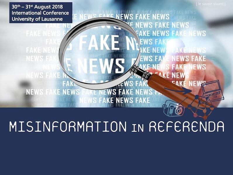 Conférence | Misinformation in Referenda