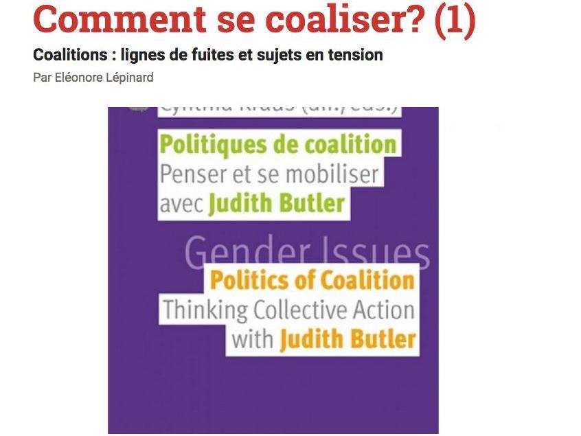Comment se coaliser?  Coalitions : lignes de fuites et sujets en tension