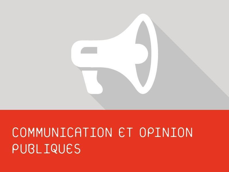 CAS l Communication et opinion publiques
