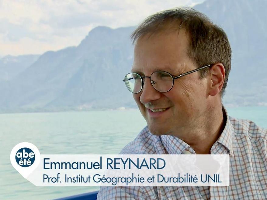 Emmanuel Reynard explique le concept d'eau virtuelle
