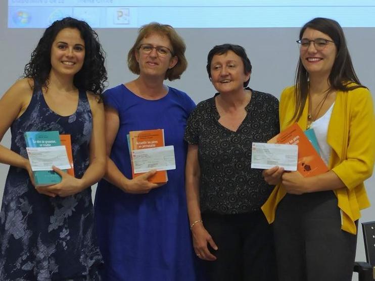 Le travail de Master de Mme Vania Sandoz, doctorante à l'IUFRS, a été primé.