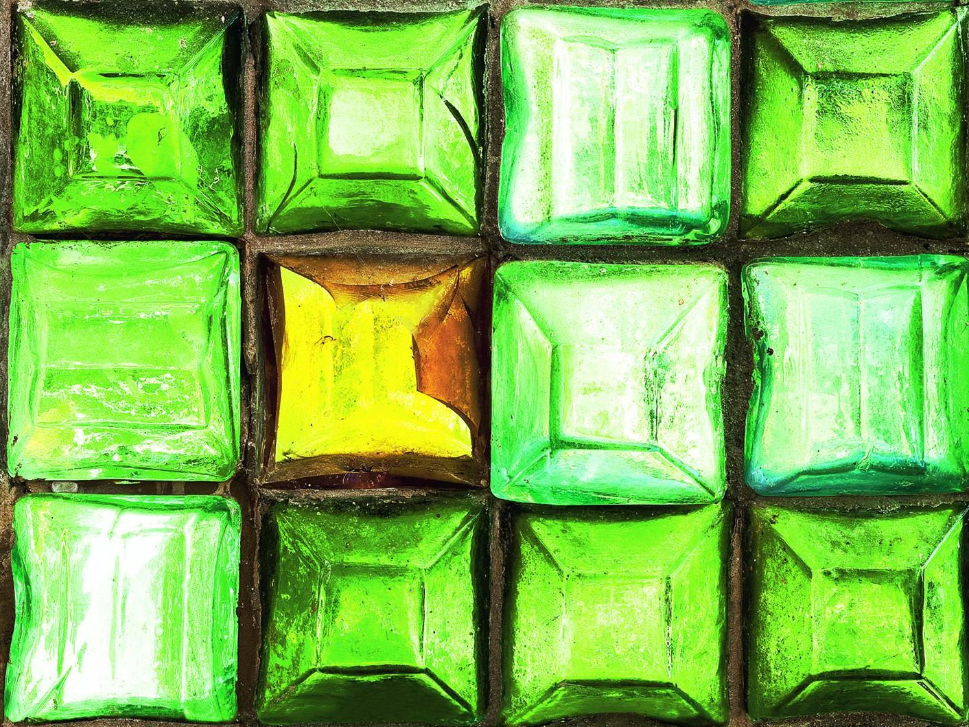 Un rêve d'architecte. La brique de verre Falconnier