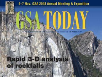 Un article du Groupe analyse du risque fait la une de l'édition d'août de GSA Today