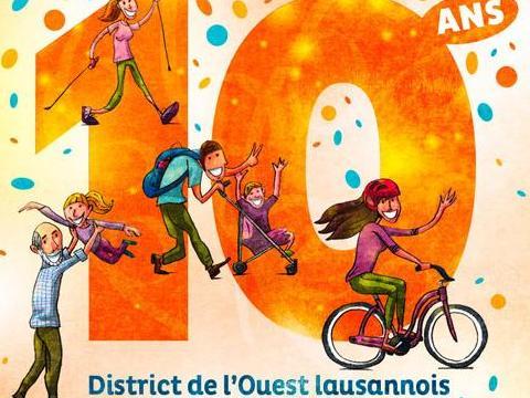L'Ouest lausannois fête la mobilité douce