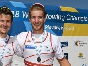 Barnabé Delarze, étudiant à l'ISSUL, est vice-champion du monde d'aviron