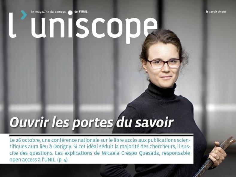 L'uniscope vous dit tout de l'open access. Mais pas seulement !