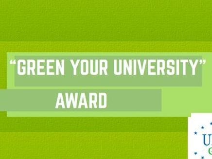 """Green Your University"" Award :  Proposez vos projets !"