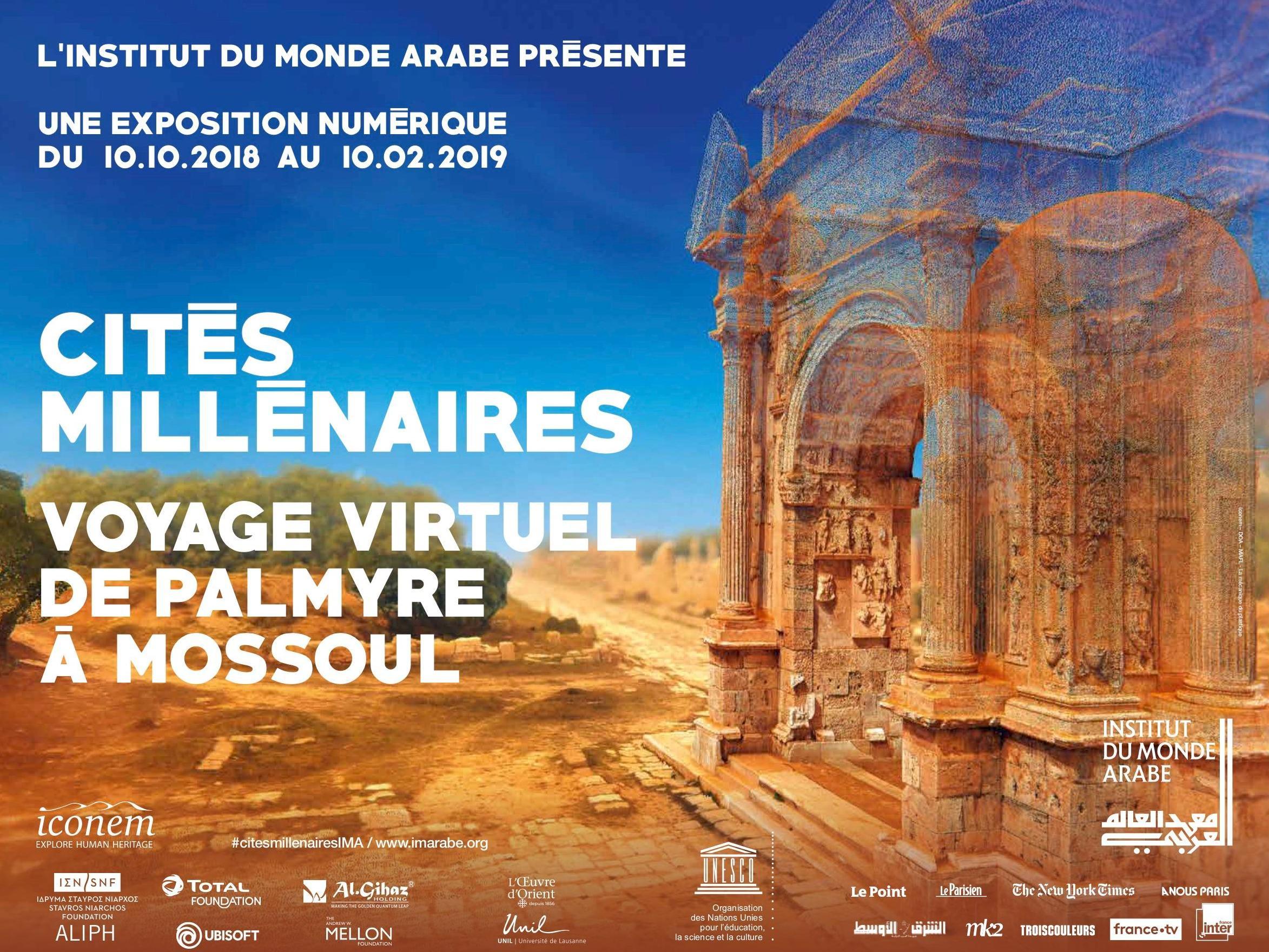 Le projet Collart-Palmyre se dévoile à Paris