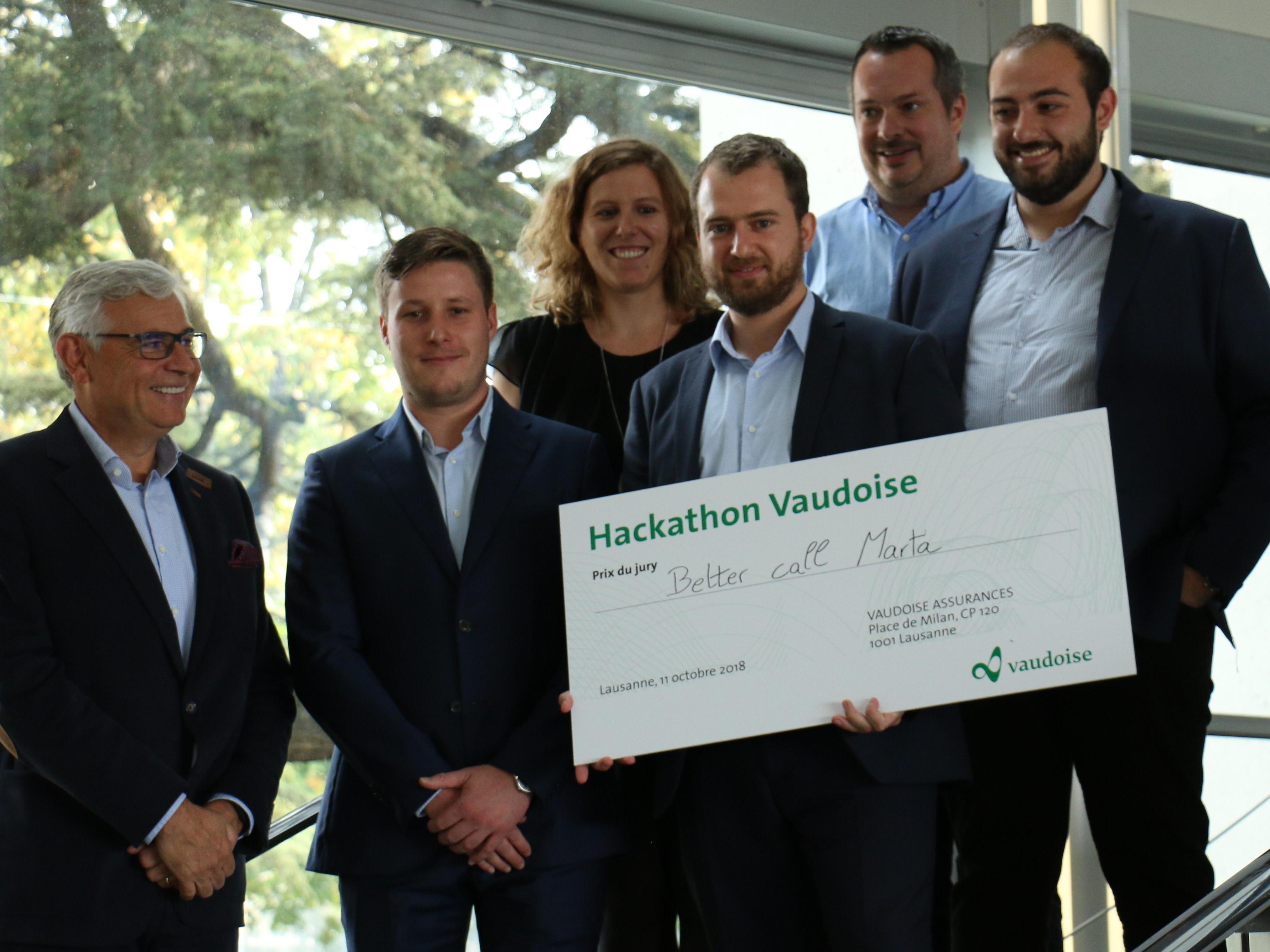 Des étudiant·e·s du Master en Sciences actuarielles participent au hackathon de La Vaudoise Assurances