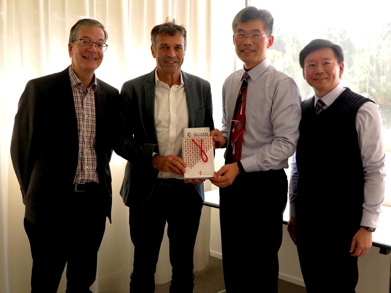 Visite de deux représentants taïwanais à l'IDHEAP