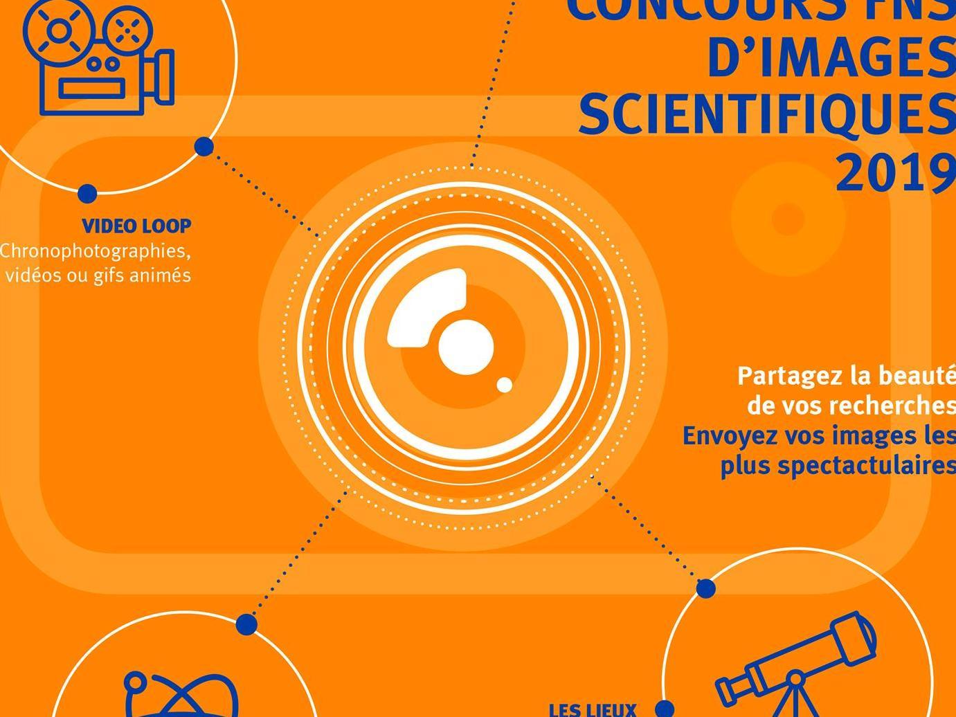 Concours FNS d'images scientifiques 2019: participez et montrez votre recherche sous un nouvel angle