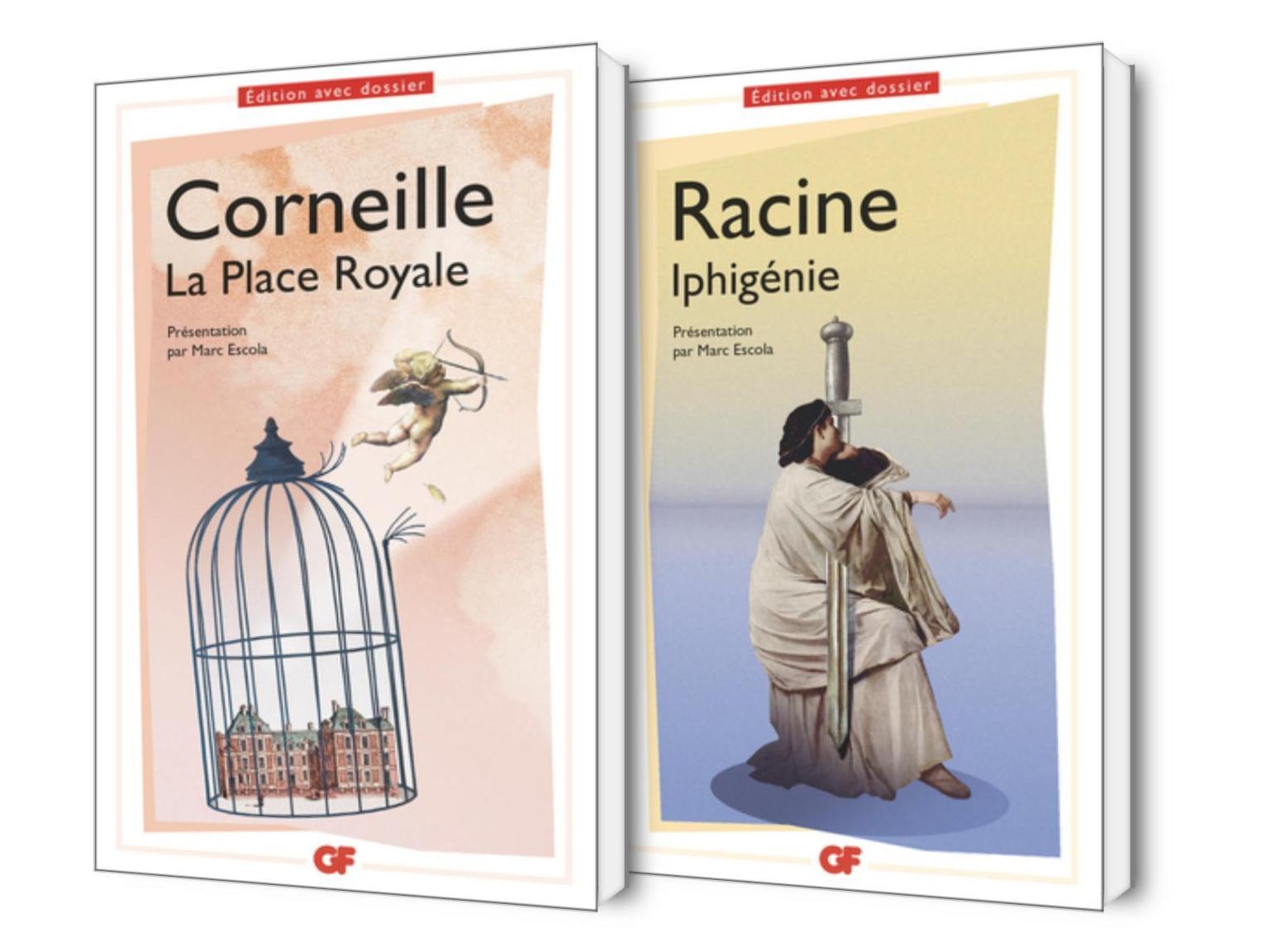 La Place Royale de Corneille et Iphigénie de Racine