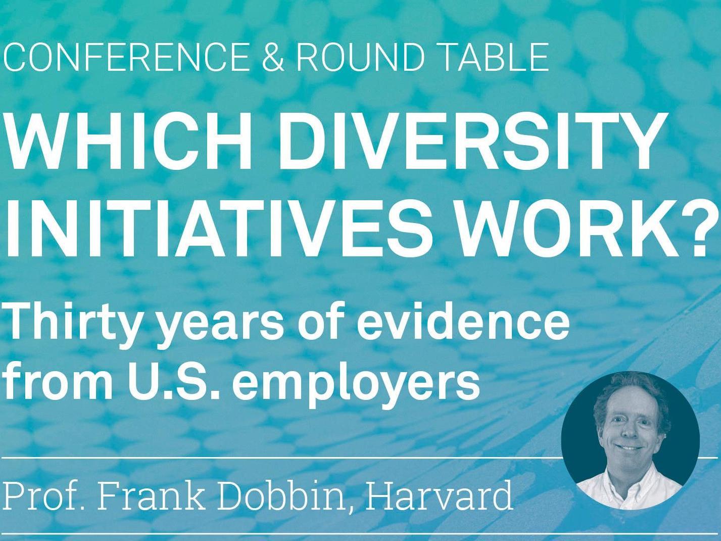Conférence du professeur Frank Dobbin de l'Université d'Harvard
