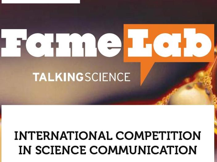 FameLab International Science communication competition