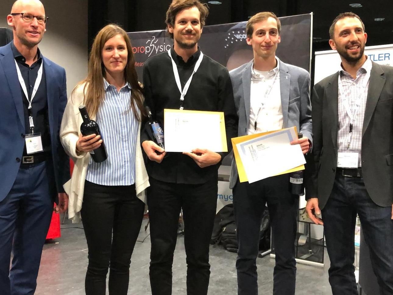 Marie Simonet, doctorante à l'ISSUL a reçu le 3ème prix du Young Investigator Award