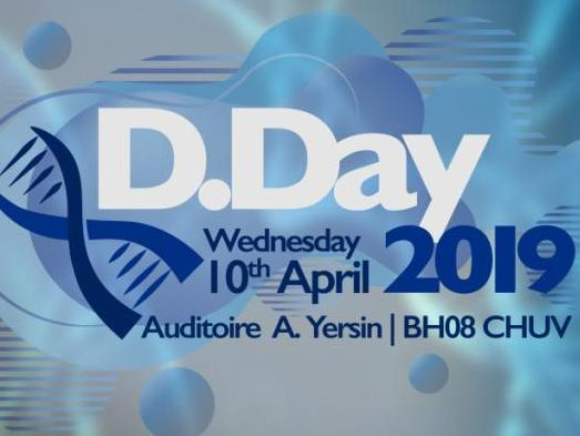 D.Day 2019 – Discover what your neighbours are working on!  10 avril 2019 | Auditoire Yersin | CHUV