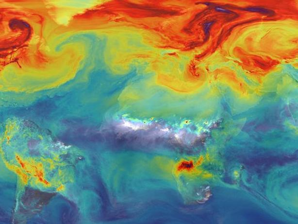Un important rapport sur les concentrations de CO2 d'origine humaine dans l'atmosphère