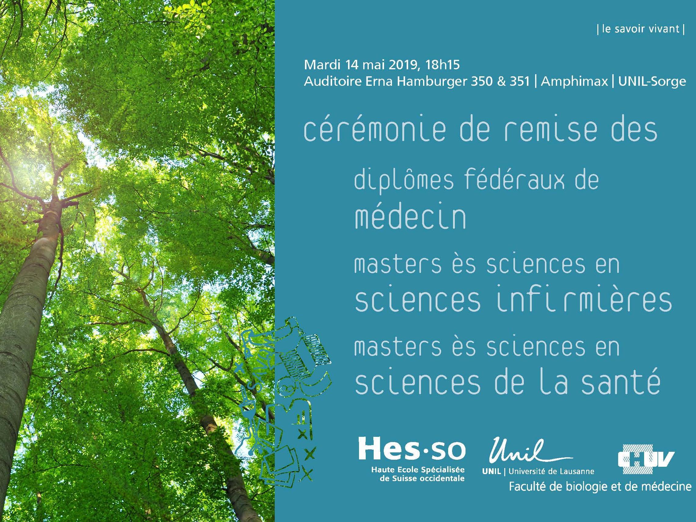Diplômes fédéraux de médecin, Masters ès sciences en sciences infirmières et Masters ès sciences en sciences de la santé