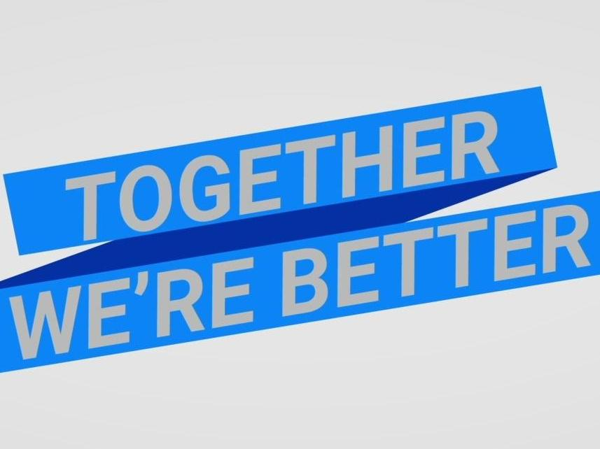 Together we're better